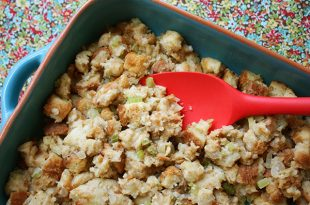 Simple Bread Stuffing