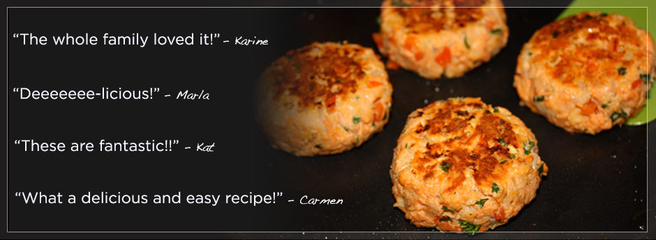 JennyCanCook Salmon Patties Recipe Reviews