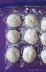 How To Freeze Pecan Balls