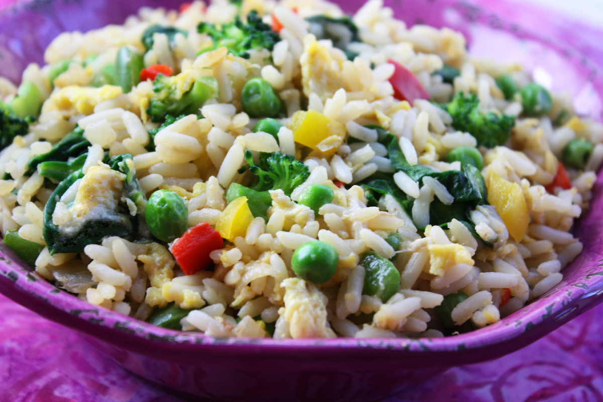 Best Recipe Veggie Fried Rice