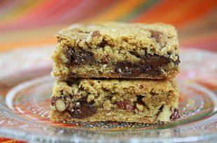Easy One Bowl Blondies