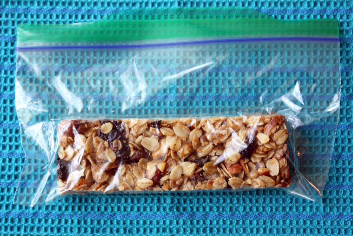 Best way to store granola bars