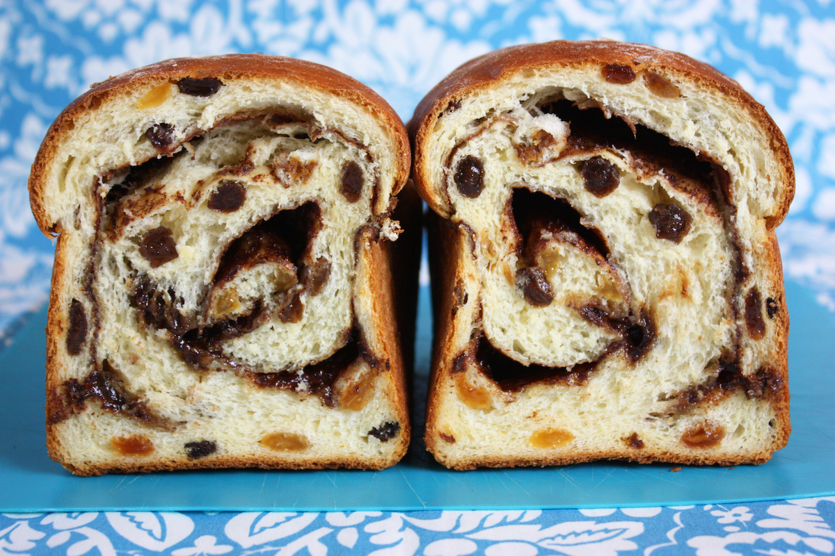 Cinnamon Swirl Raisin Bread Gaps