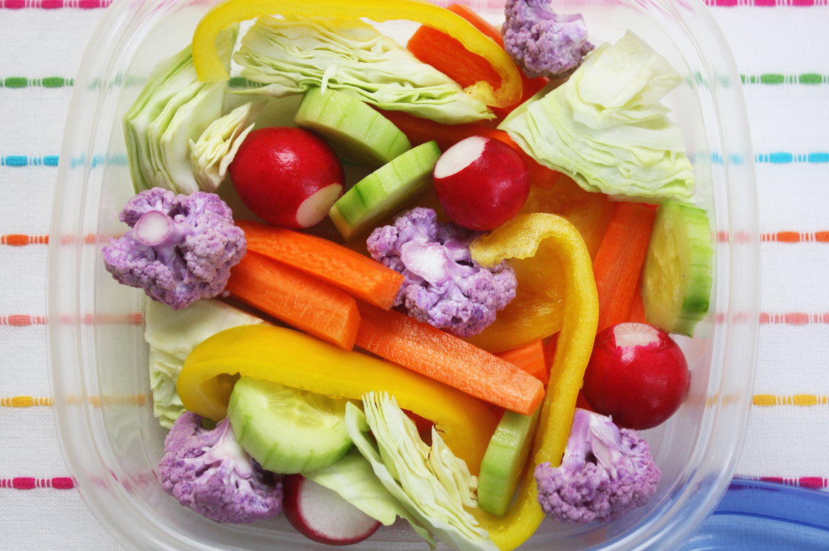 Colorful Healthy Crudite