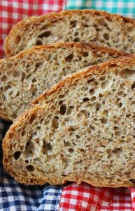 High Fiber No Knead Bread