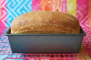 Quick & Easy Sprouted Wheat Bread