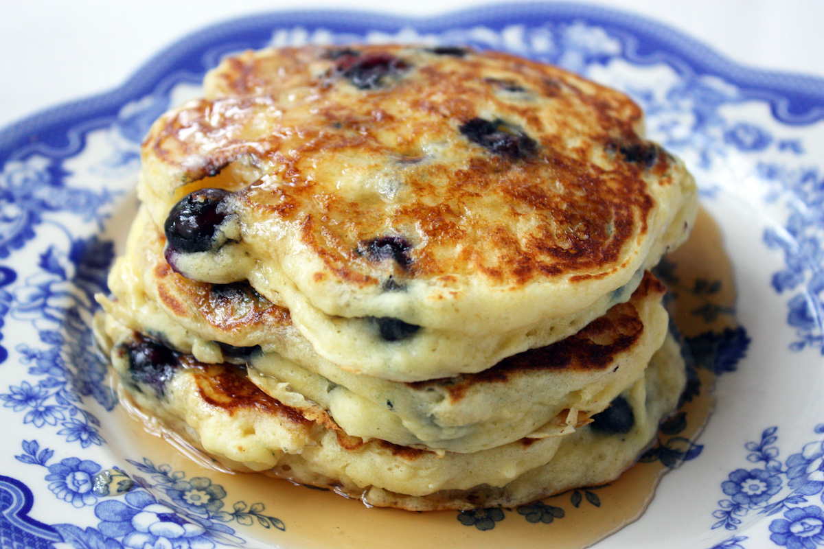 Best Recipe Blueberry Pancakes from Scratch