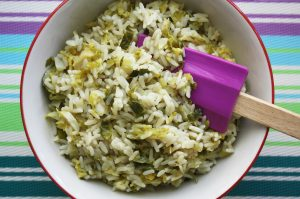 Brussel Sprouts Rice