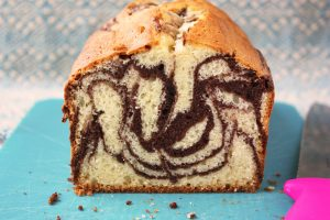 Healthier Marble Loaf Cake