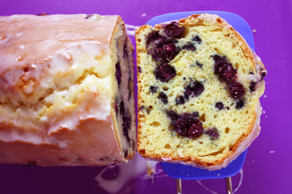 Lemon Blueberry Loaf Cake
