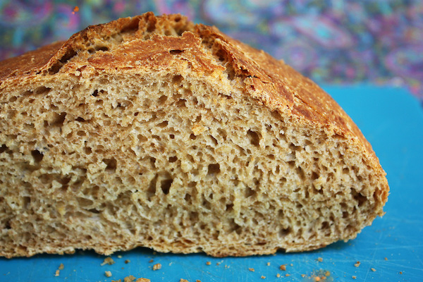 Multigrain No Knead Bread