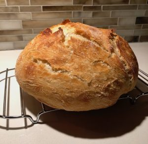 easy to bake no knead bread