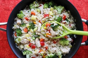 Chicken Veggie Rice
