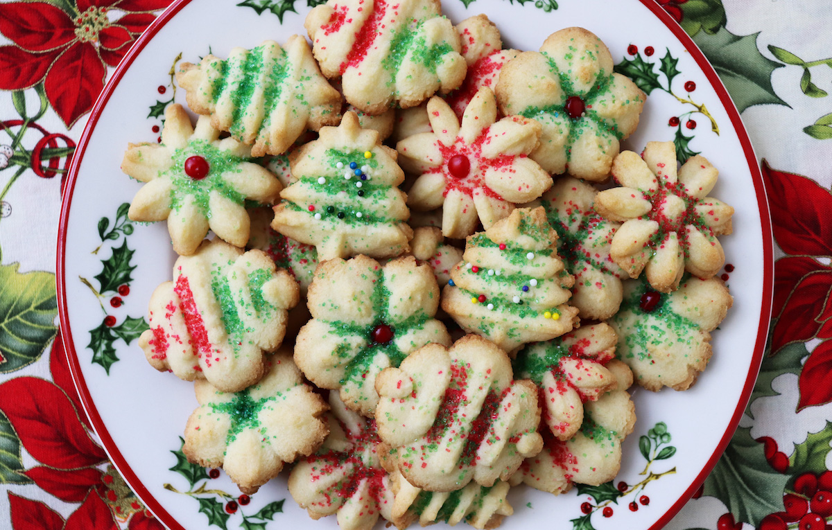 Healthier Christmas Sugar Cookies Recipe Jenny Can Cook