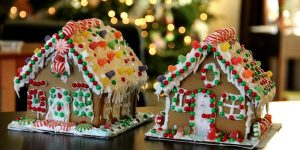 holidays ginger bread house