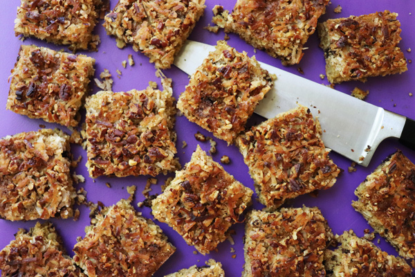 Crispy Top Oatmeal Bars