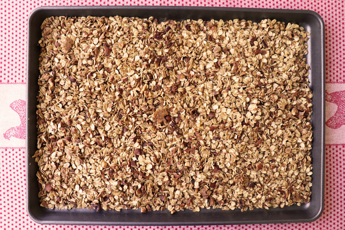 Easiest Recipe Homemade Granola
