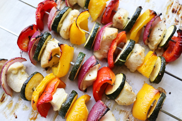 Oven Chicken Veggie Kabobs Oven Baked Skewers Jenny Can Cook Jenny Can Cook
