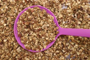 Homemade High Fiber Granola