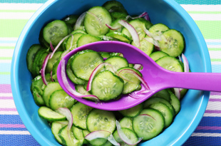 Quick & Easy Cucumber Salad