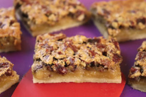 Homemade Pecan Pie Bars from Jenny Can Cook