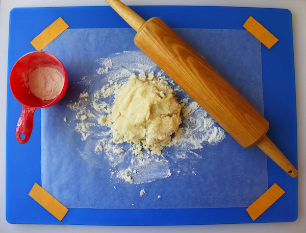 Save Cleanup With Wax Paper