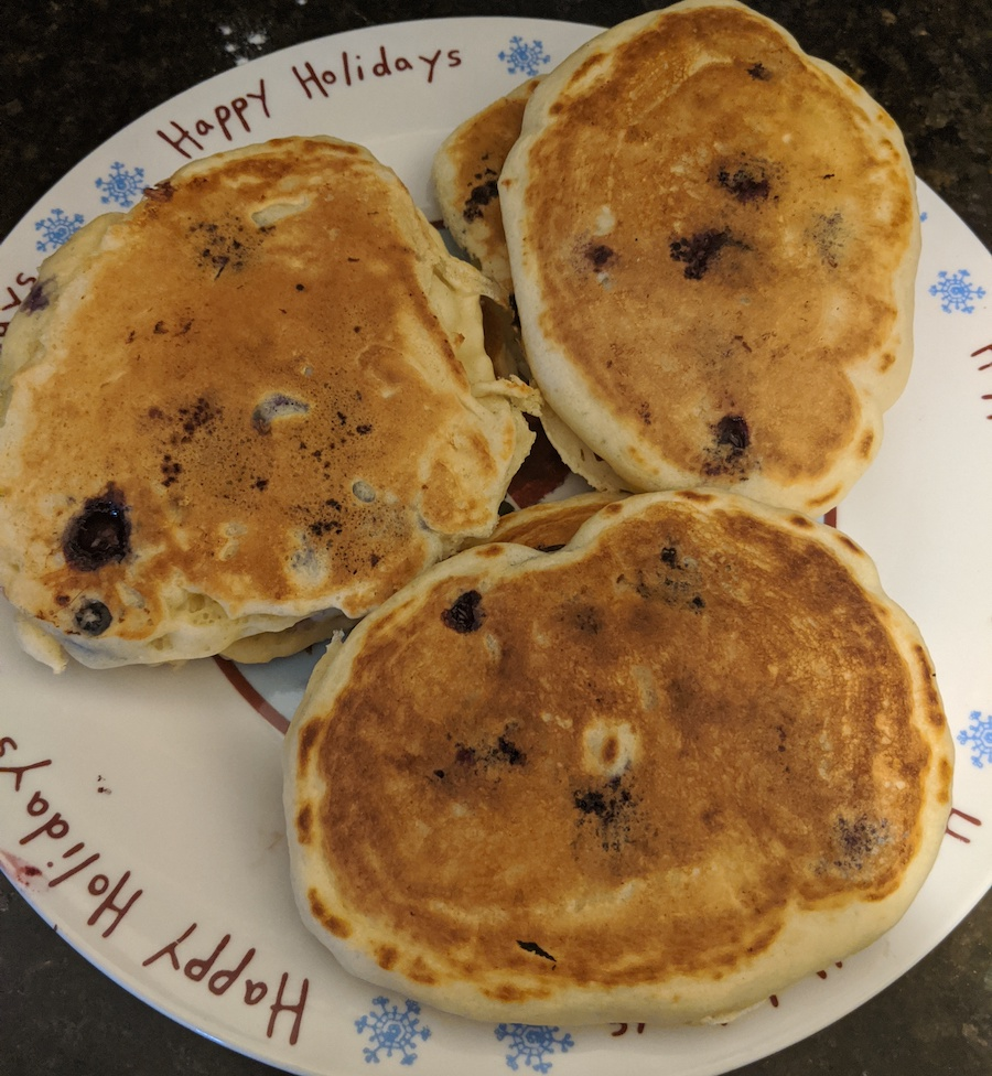 Blueberry Pancakes Jenny Can Cook