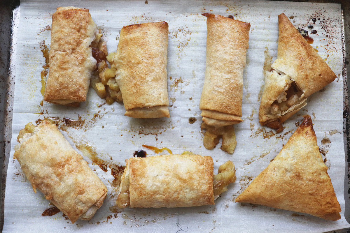 Apple Turnovers with Phylo