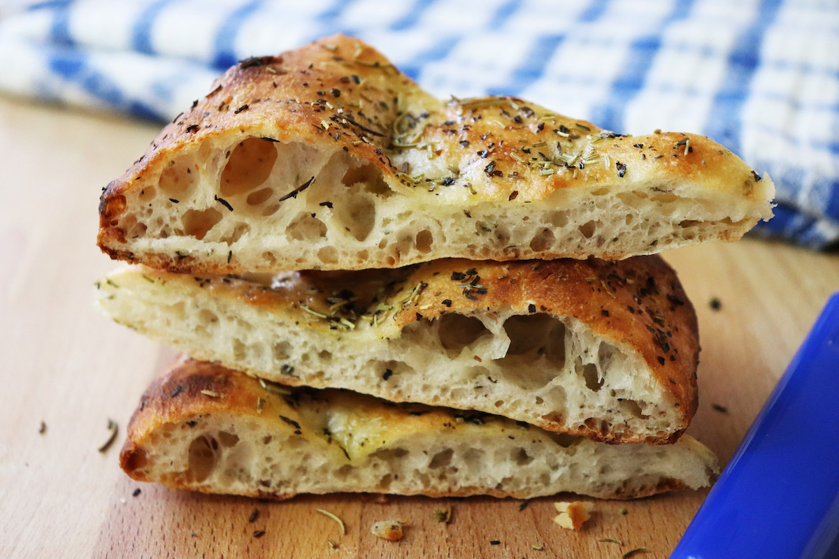 Easy Crispy Focaccia Bread Recipe