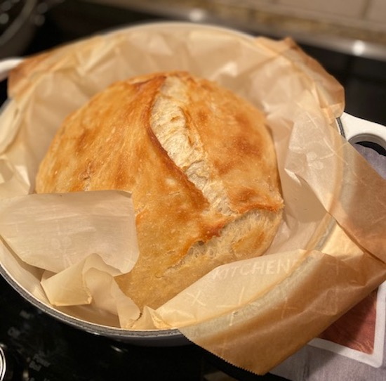 Easy Dutch Oven Bread