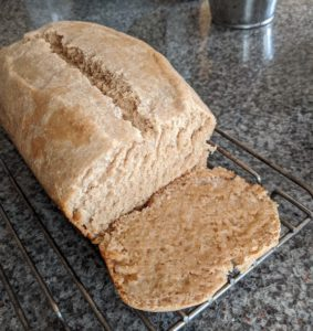Easy Homemade Whole Wheat Bread