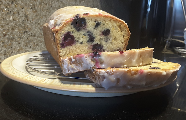 Easy Lemon Blueberry Loaf