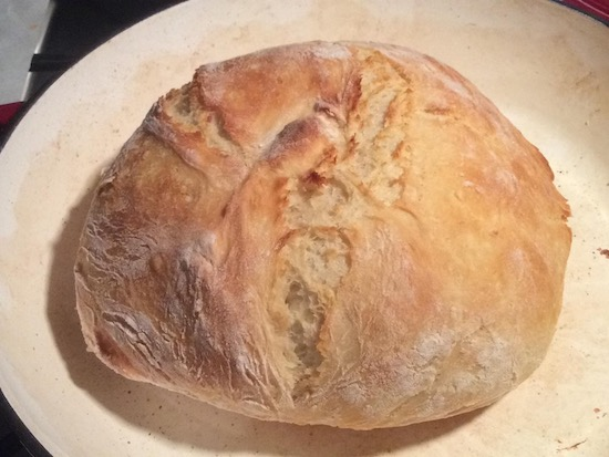 Fastest No Knead Bread