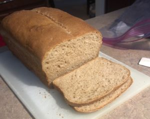 Quick Easy Sprouted Wheat Bread