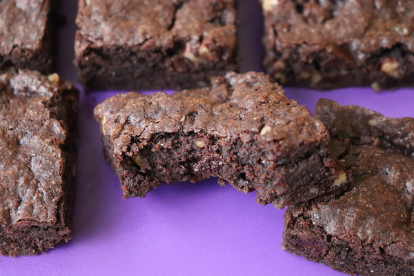 Fudgy Chewy Gluten Free Brownies