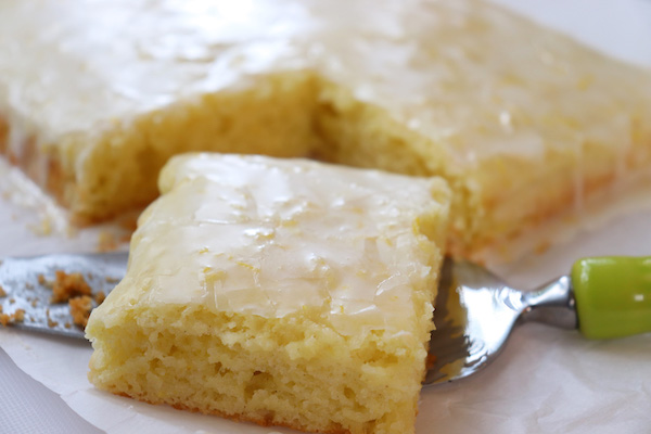 Gluten Free Lemon Brownies