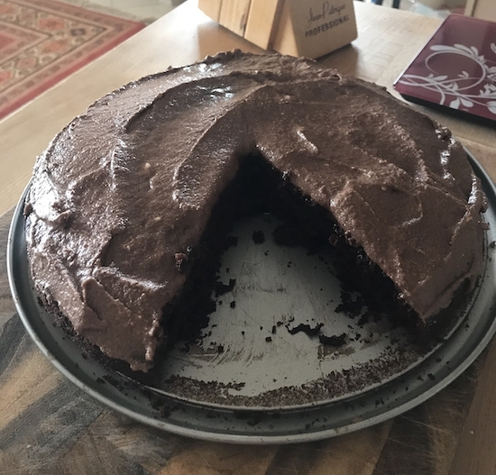 quarantine chocolate cake