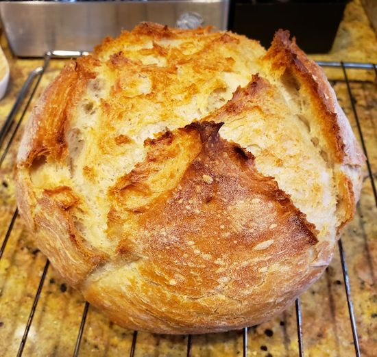 Fastest Dutch Oven Bread