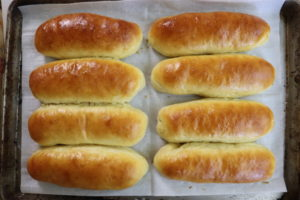 One Hour Hot Dog Buns