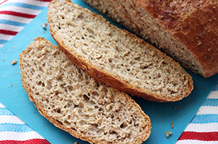 Cracked Wheat No Knead Bread