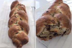 Easy Cinnamon Raisin Bread