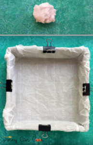 How To Line a Square Pan with Parchment Paper