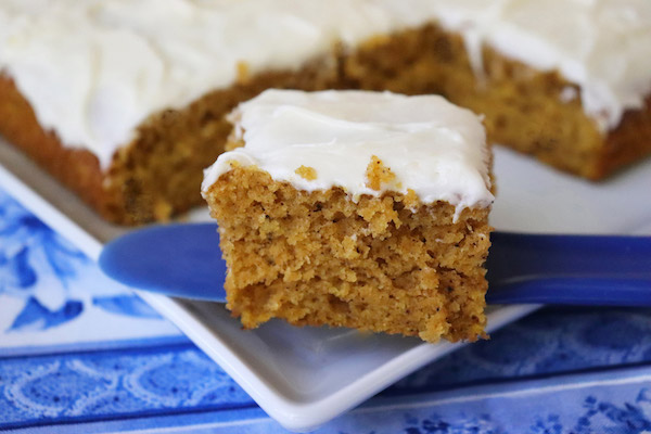 Quick & Easy Pumpkin Bars