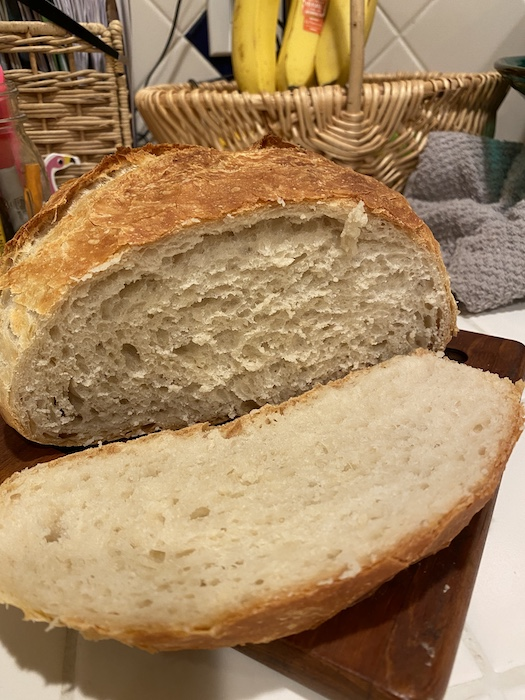 2-Hour No Knead Bread