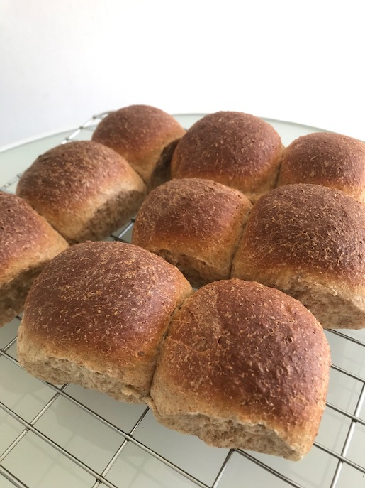 Easy Whole Wheat Buns