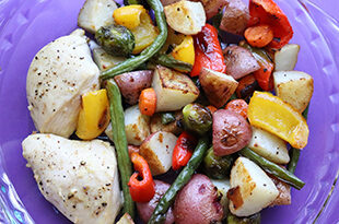 Sheet Pan Chicken & Roasted Vegetables