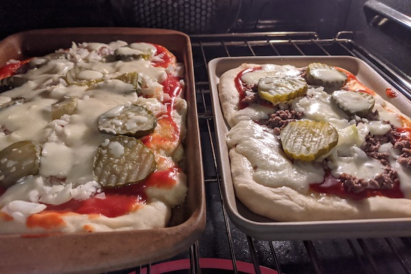 Fast Homemade Pizza Crust
