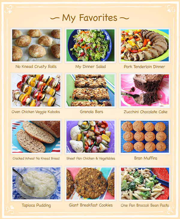 Jenny Can Cook Favorite Recipes