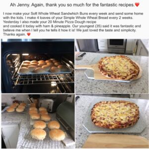 Jenny Can Cook Bread and Pizza