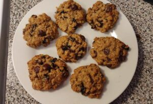Soft Oatmeal Cookies Without Butter